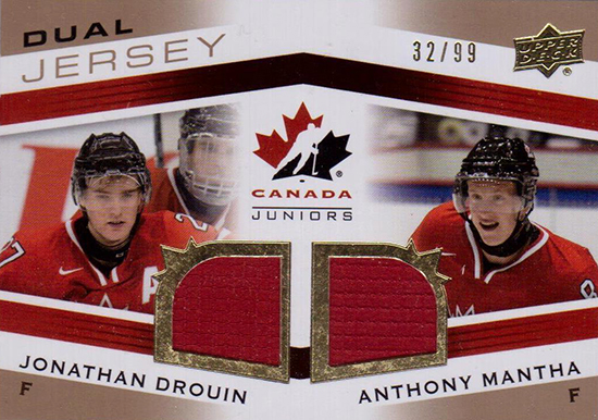 2016-17-NHL-Upper-Deck-Rookie-Card-Anthony-Mantha-Detroit-Red-Wings-Team-Canada