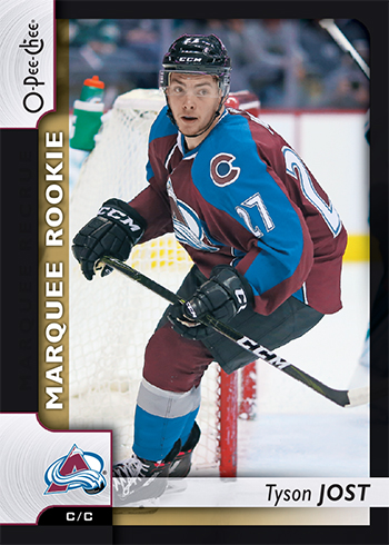 2017-18-Upper-Deck-NHL-O-Pee-Chee-Marquee-Rookie-Tyson-Jost