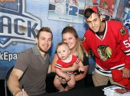 Chicago Blackhawks Fans Turn Out In Huge Numbers to Say Goodbye to Rookie Standout Tyler Motte