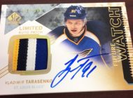 Upper Deck Secures Remaining Vladimir Tarasenko Rookie Autograph Exchange Cards