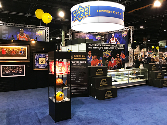 Upper-Deck-Authenticated-Monumental-Volume-1-Multi-Sport-National-Sports-Collectors-Convention-Sealed-Box