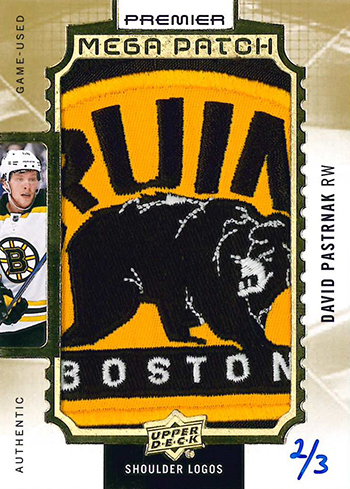 2016-17-nhl-upper-deck-premier-mega-patch-shoulder-logos-david-pastrnak