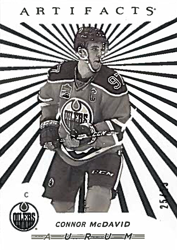 2017-18-Upper-Deck-NHL-Artifacts-White-Aurum-Bounty-Connor-McDavid