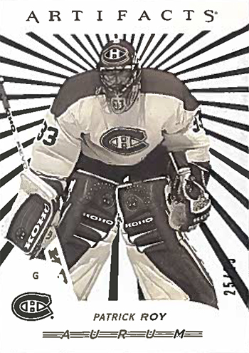 2017-18-Upper-Deck-NHL-Artifacts-White-Aurum-Bounty-Patrick-Roy