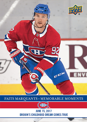 2017-LAnti-Expo-Montreal-Canadiens-Memorable-Moments-Set-0-Jonathan-Drouin