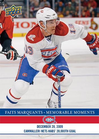 2017-LAnti-Expo-Montreal-Canadiens-Memorable-Moments-Set-2-Mike-Camalleri