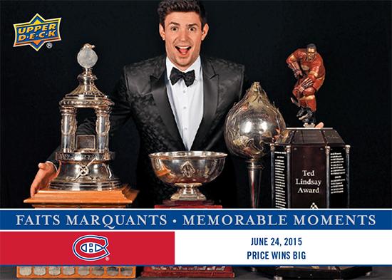 2017-LAnti-Expo-Montreal-Canadiens-Memorable-Moments-Set-6-Carey-Price