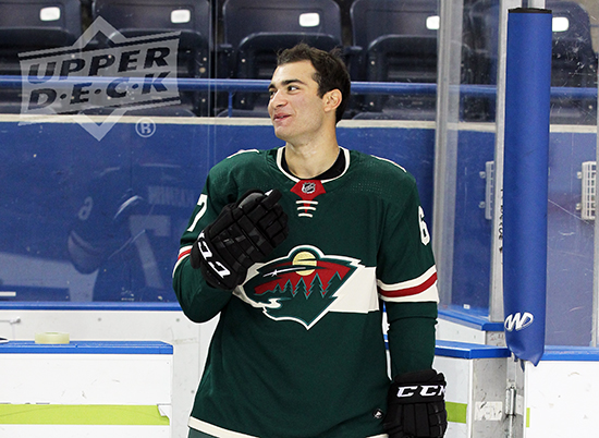 2017-NHLPA-Rookie-Showcase-Upper-Deck-Luke-Kunin-Minnesota-Wild