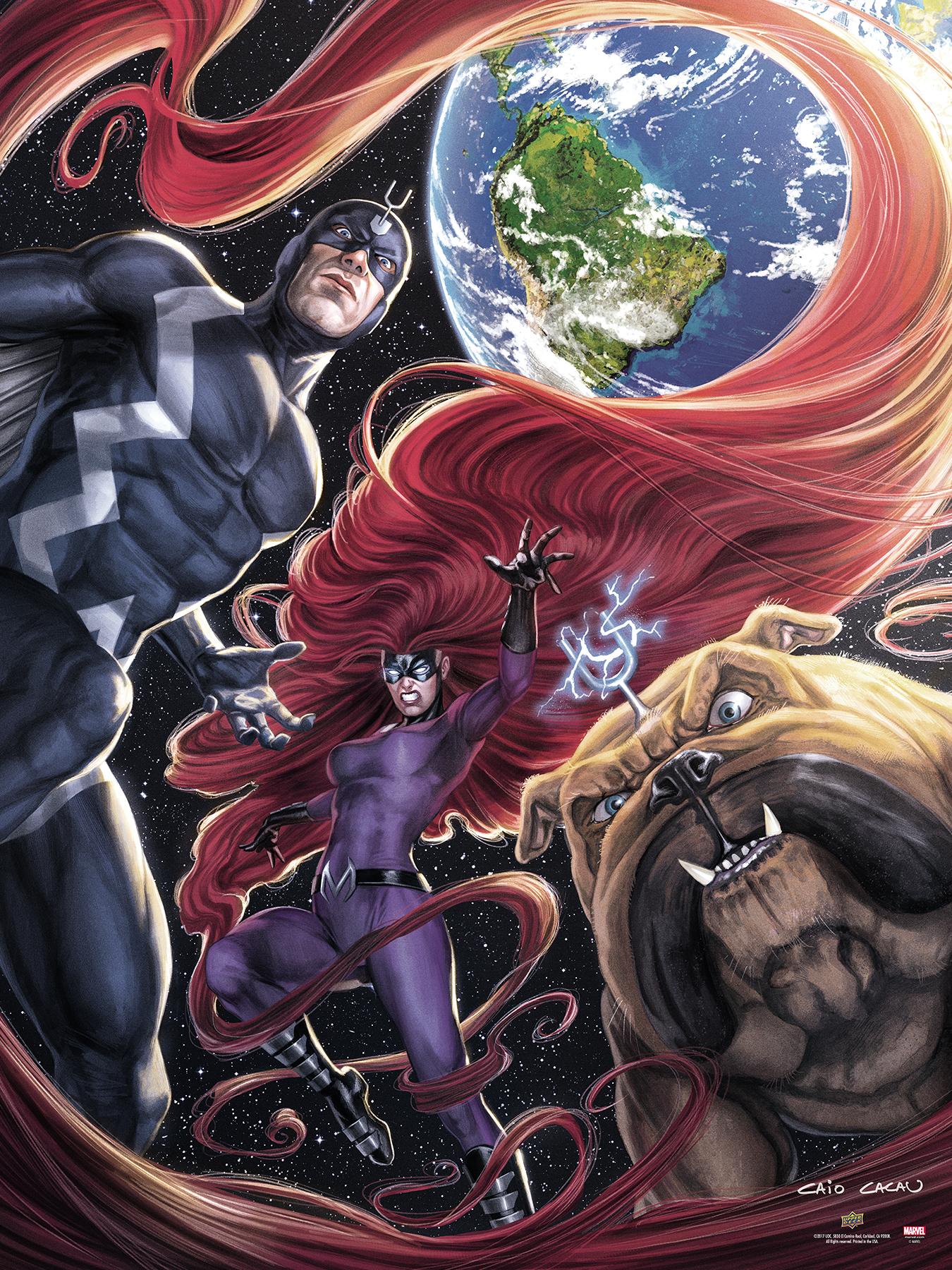 2017-Upper-Deck-September-Marvel-Inhumans-UDGallery-Fine-Art-Print