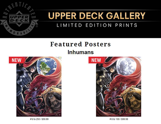 Upper-Deck-Gallery-Art-Print-Marvel-The-Inhumans-Caio-Cacau-order-now
