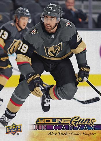 2017-18-NHL-Upper-Deck-Series-One-Young-Guns-Canvas-Alex-Tuch
