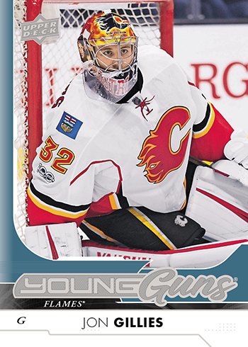 2017-18-NHL-Upper-Deck-Series-One-Young-Guns-Jon-Gillies