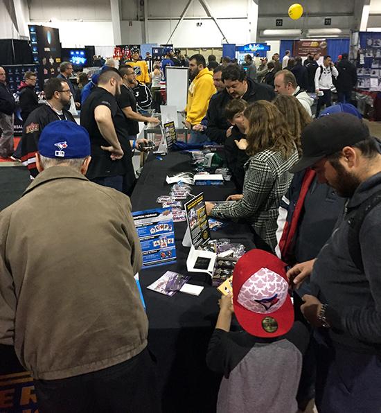 2017-upper-deck-sport-card-memorbabilia-toronto-nhl-hockey-cards-warpper-redemption-prorgram-booth