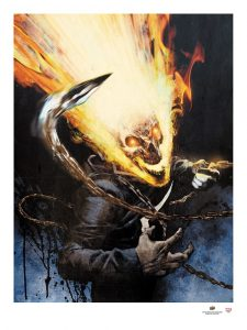 2017-Upper-Deck-Gallery-Art-Print-Ghost-Rider-Jason-Shawn-Alexander-Halloween