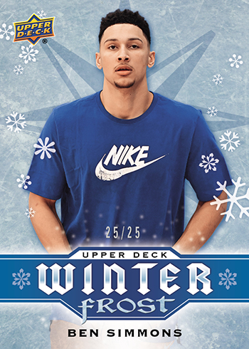 2017-Upper-Deck-Winter-Frost-Ben-Simmons