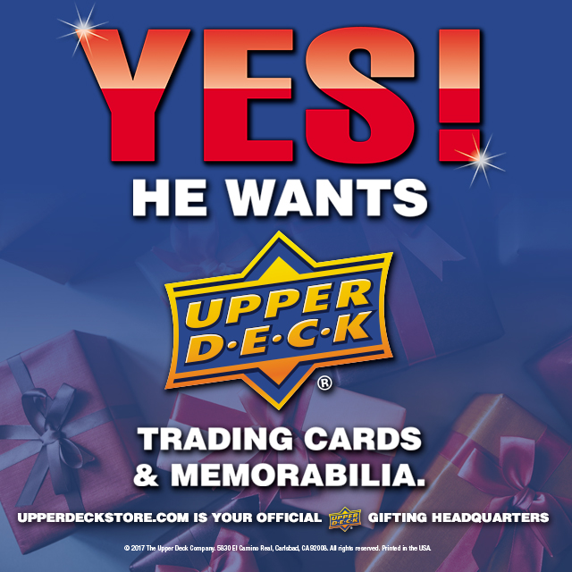 Holiday-Social-Upper-Deck-Yes-He-Wants-UD-Trading-Cards-Memorabilia