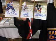 Incredible Upper Deck Hockey Card Hits were on Display at the Fall Sport Card & Memorabilia Expo
