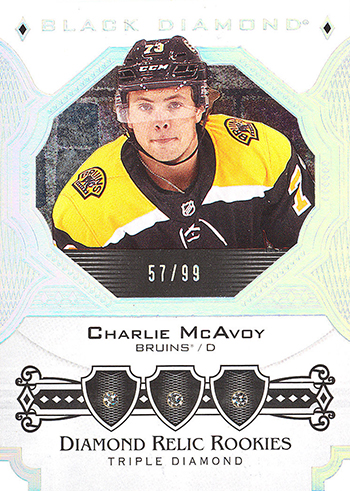 2017-18-NHL-Upper-Deck-Black-Diamond-Triple-Relic-Charlie-McAvoy