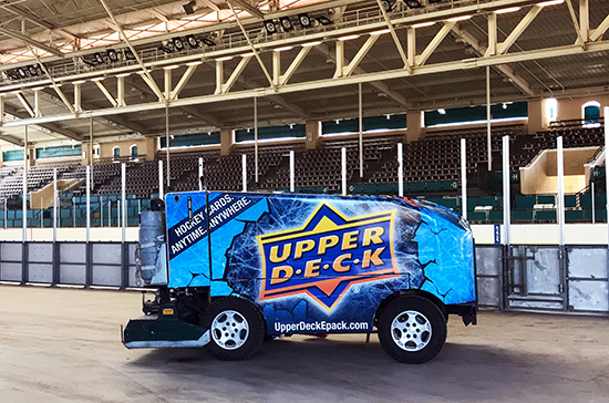 Frozen-Fairgrounds-Upper-Deck-Del-Mar-Parntership-NHL-Hockey-Zamboni-1