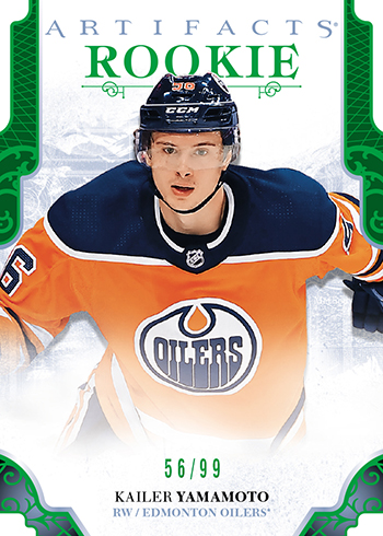 2017-18-NHL-Upper-Deck-Artifacts-Rookie-Redemption-Emerald-Kailer-Yamamoto