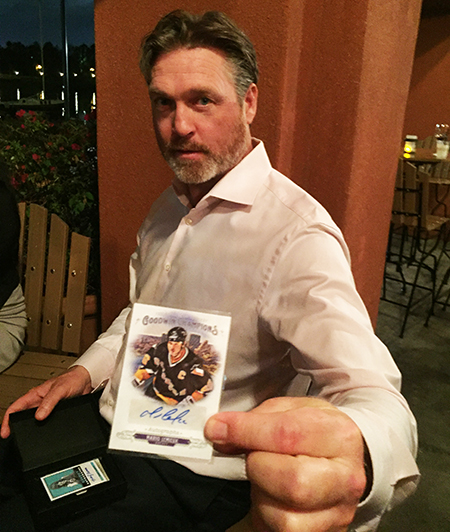2018-Upper-Deck-Certified-Diamond-Dealer-Conference-Patrick-Roy-Pull-Mario-Lemieux