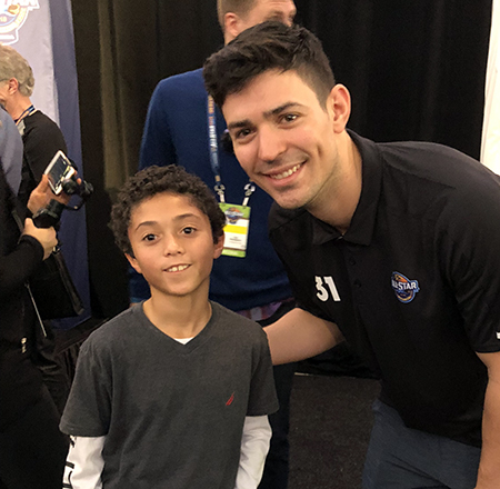 2018-upper-deck-nhl-all-star-media-day-kid-correspondent-interview-reporter-carey-price-jaxson-shandler
