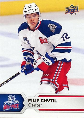 2017-18-Upper-Deck-AHL-Hockey-Trading-Cards-XRC-Filip-Chytil-Hartford-Wolf-Pack