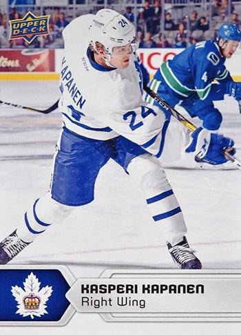 2017-18-Upper-Deck-AHL-Hockey-Trading-Cards-XRC-Kasperi-Kapanen-Toronto-Marlies