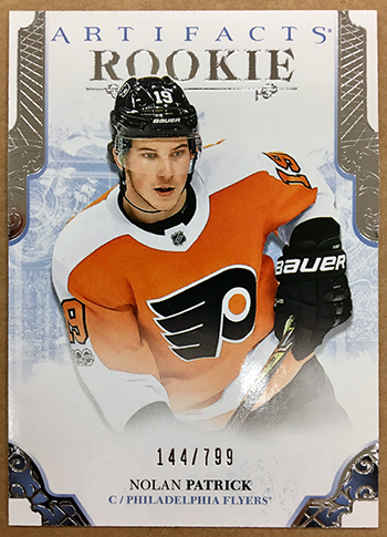 2017-18-NHL-Artifacts-Rookie-Redemption-Exchange-Nolan-Patrick