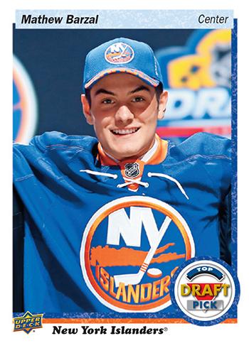 2018-Upper-Deck-NHL-Draft-Set-Series-Three-36-Mathew-Barzal