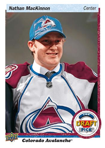 2018-Upper-Deck-NHL-Draft-Set-Series-Three-47-Nathan-Mackinnon