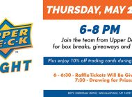 BUFFALO SPORTS FAN ALERT: Upper Deck Night at Dave & Adam's Cardworld Returns this Thursday at the Williamsville, NY Location!