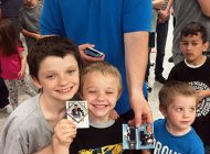 Upper Deck Makes Incredible Memories with Fans at Dave & Adam's Cardworld