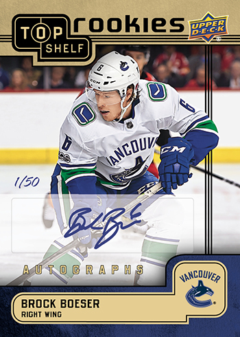 2018-upper-deck-top-shelf-rookie-national-sports-collectors-convention-brock-boeser-autograph