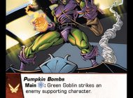 Vs. System 2PCG: Sinister Syndicate Card Preview – Goblin Up Spider-Friends
