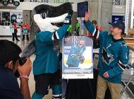 Wish Made Again: Hayden Bradley of the San Jose Sharks Earns his NHL® Upper Deck Young Guns Rookie Card