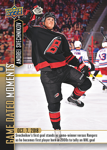 2018-19-upper-deck-nhl-game-dated-moments-andrei-svechnikov-carolina-panthers