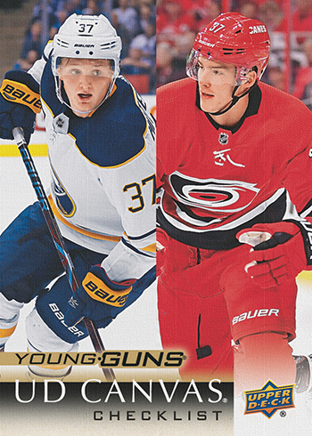 2018-19-upper-deck-series-one-canvas-young-guns-checklist-mittelstadt-svechnikov