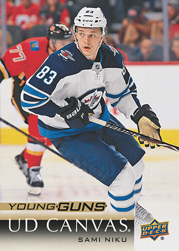 2018-19-upper-deck-series-one-canvas-young-guns-sami-niku