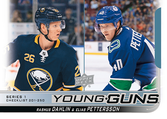 2018-19-upper-deck-series-one-young-guns-checklist-dahlin-pettersson-250