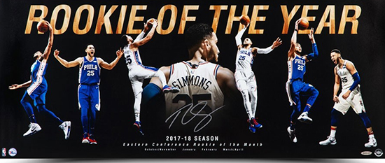 2018-prize-social-media-upper-deck-singles-day-ben-simmons-rookie-of-the-year-signed-photo