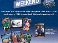 Upper Deck Family Weekend Comes to North America Starting on Friday, February 15, 2019