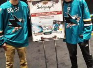 Upper Deck Brings in Two Heroic Inspirations to Sign Autographs at the NHL® All-Star Fan Fair in San Jose