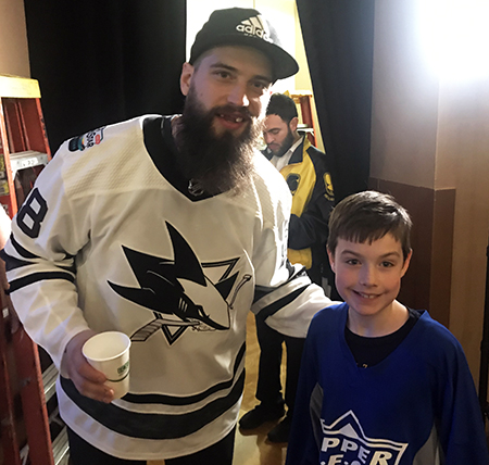 2019-upper-deck-nhl-all-star-media-day-kid-correspondent-player-brent-burns