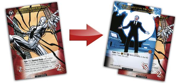 Legendary Venom Poison Spider-Man Bonds With Dr. Carlton Drake