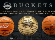 Upper Deck Shoots and Scores with Buckets Basketball